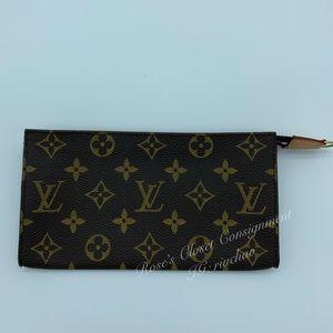 Authentic Louis Vuitton monogram bucket pouch